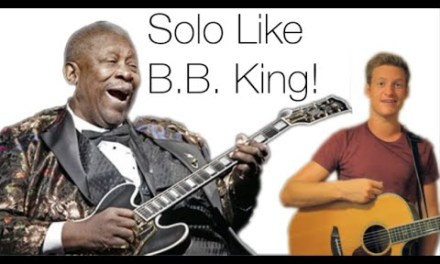 HOW TO PLAY GUITAR LIKE B.B. KING