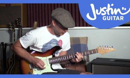 Rhythm Lick 1: Mayfield/Hendrix Style, Rhythm Guitar Lesson
