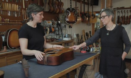Inside the Craft | Nicole Alosinac | How to repair an old guitar