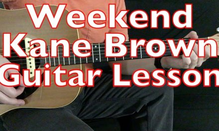 Weekend – Kane Brown – Guitar Lesson (Tutorial Cover) Major Pentatonic Soloing