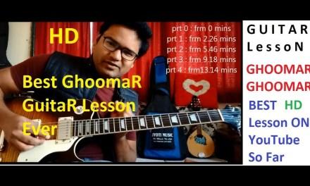 Ghoomar Guitar Lead Lesson. Complete Guitar Lead Lesson. Padmavat Padmavati | UV Guitar Academy