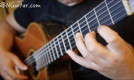 Canarios | Gaspar Sanz | NBN Guitar playthrough