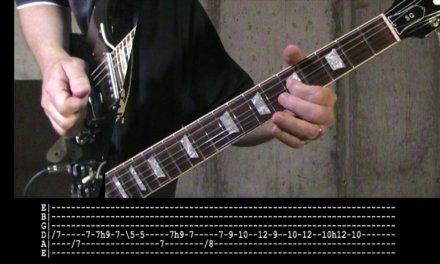 Boston – Man I'll  Never Be – Slow-Motion Guitar Lesson