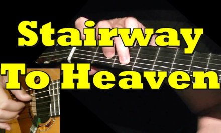 STAIRWAY TO HEAVEN: Guitar Lesson + TAB by GuitarNick