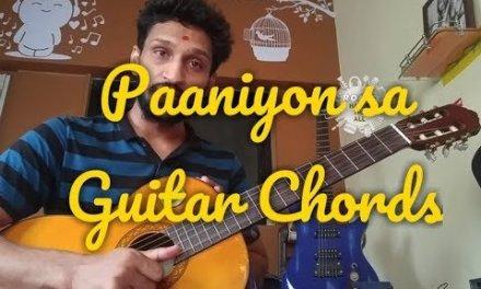 Paniyon sa   Atif aslam   guitar chord lesson