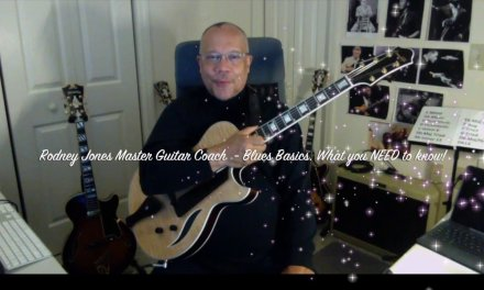 Rodney Jones – Jazz Guitar Masterclass – The Blues Basics