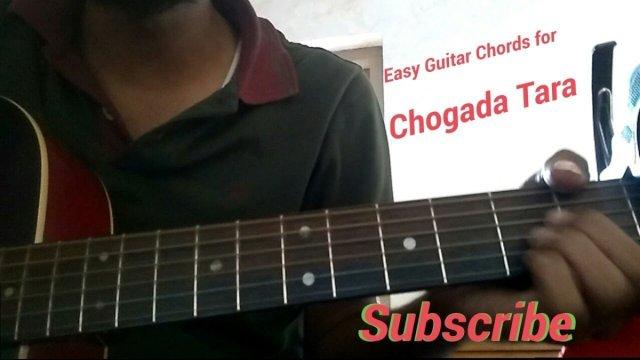 Chogada Tara Guitar Chords | cover | Darshan Raval | Love Ratri ...