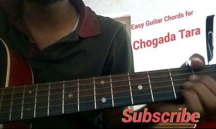 Chogada Tara Guitar Chords | cover | Darshan Raval | Love Ratri