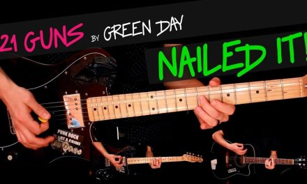 21 Guns – Green Day guitar cover by GV +chords