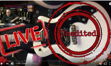 UNEDITED Guitar Pickup Upgrade / Install & Full Re-Wire – LIVE