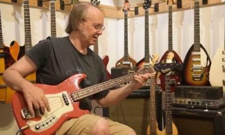 Hagstrom Bass I Model FB Solid Body Electric Bass Guitar (1966)