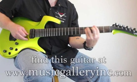 SOLD! Parker Fly Mojo in Lime Green   The Music Gallery