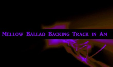 Mellow Ballad Guitar Backing Track in Am Guitar Jam Track 184