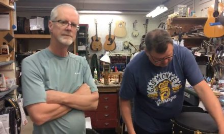 In The Shop, Live May 15th, 2018 | Elderly Instruments