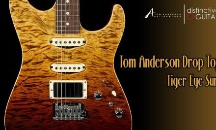 Tom Anderson Drop Top   Tiger Eye Surf Finish
