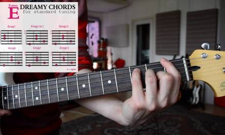 How to play EASY & DREAMY Guitar Chords – SHOEGAZE | DREAM POP | AMBIENT Tutorial – Vol. 2