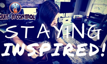 Acoustic Guitar Lesson On How to Stay Inspired