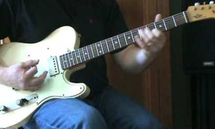 Sweet Home Chicago/Blues Basics (tutorial) – by Tonedr