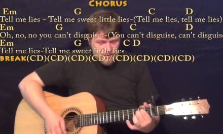 Little Lies (Fleetwood Mac) Strum Guitar Cover Lesson with Chords/Lyrics – Capo 2nd