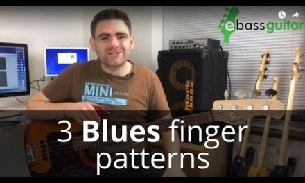 3 Important Blues Bass Guitar Fingerboard Shapes