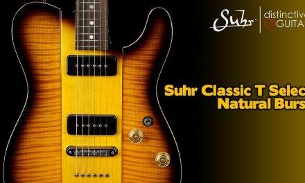 Suhr Select Classic T | Natural Burst NAMM Build