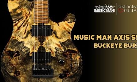 Ernie Ball Music Man Axis Super Sport BFR Buckeye Burl Limited Run
