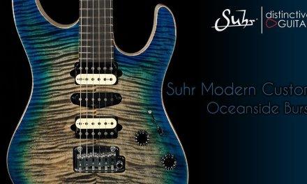 Suhr Modern Custom Guitar | Oceanside Burst
