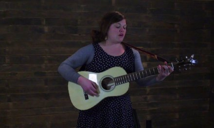 Mattie Schell of River Kittens plays the Bourgeois Piccolo Parlor Custom