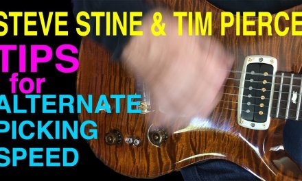 Speed Picking Tips You Need To Know | Alternate Picking | Guitar Lesson | Steve Stine | Tim Pierce