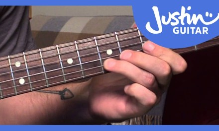 Blues Lick: Robben Ford Style (Guitar Lesson BL-556)
