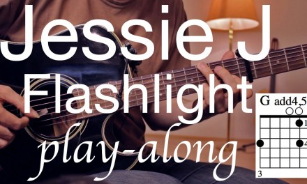 Flashlight – Jessie J  Guitar Lesson / Guitar Tutorial / Guitar Cover / (Pitch Perfect 2)