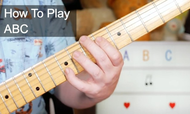 'ABC' The Jackson 5 Guitar Lesson