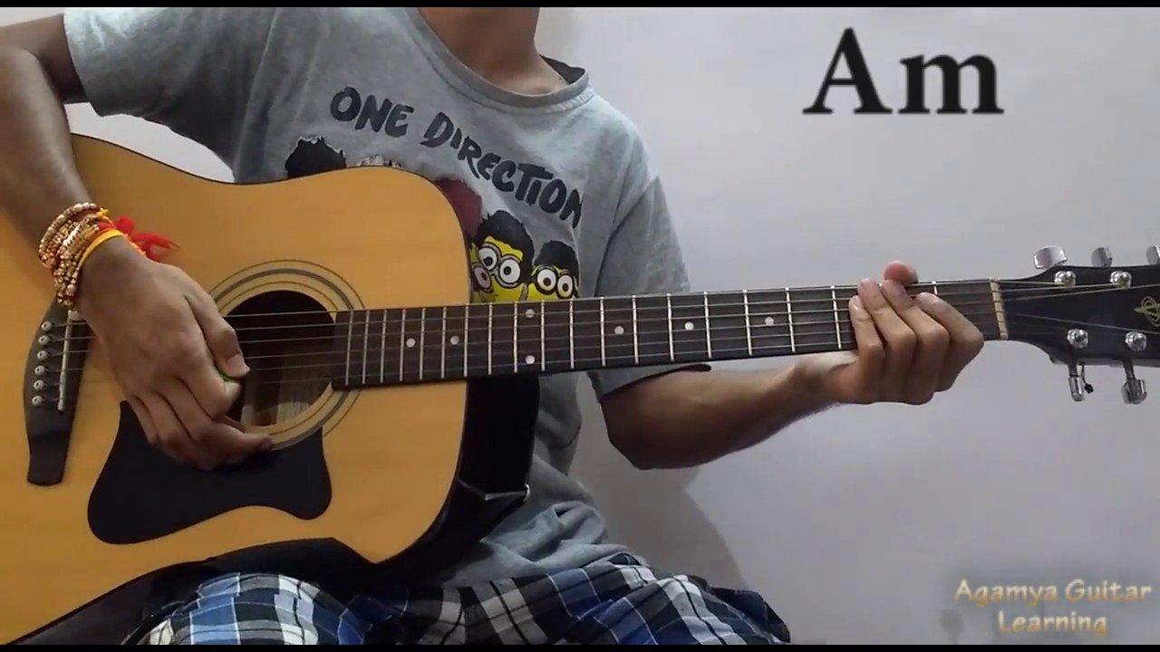 Dekhte Dekhte Atif Aslam Guitar Chords Lessoncover Strumming