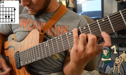 Beginning 8 String Guitar Vol. 1 – Major Chord/Scale Shapes