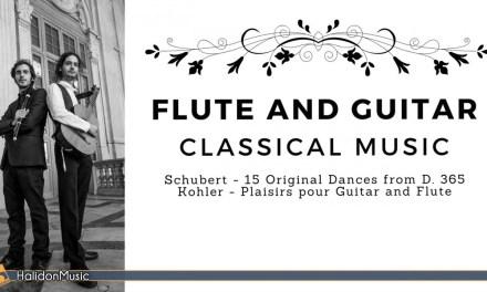 Classical Flute and Guitar: Schubert & Kohler (Duo De Felice Arata)
