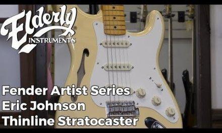 Fender Artist Series Eric Johnson Thinline Stratocaster | Elderly Instruments