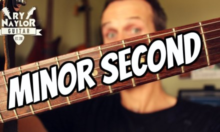 Minor Second on Guitar (Flat 2) (b2) Guitar Interval Lesson