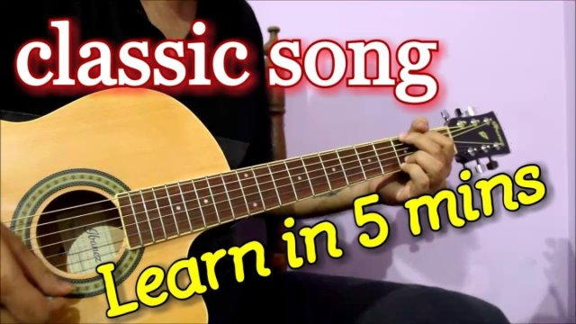 Superhit 70s Bollywood Song – Classic Guitar Tabs/Chords Lesson ...