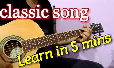 Superhit 70s Bollywood Song – Classic Guitar Tabs/Chords Lesson | Kahin Door Jab