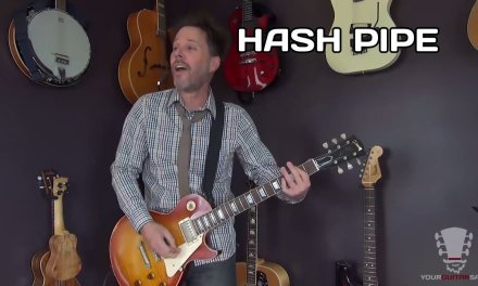 How to play Hash Pipe Weezer – Guitar Lesson