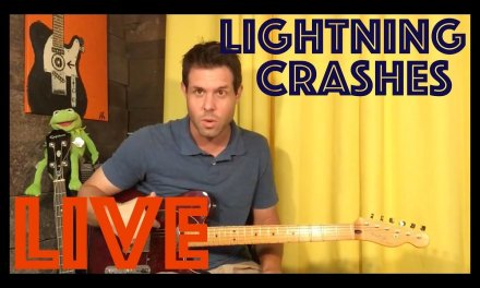 Guitar Lesson: How To Play Lightning Crashes By Live