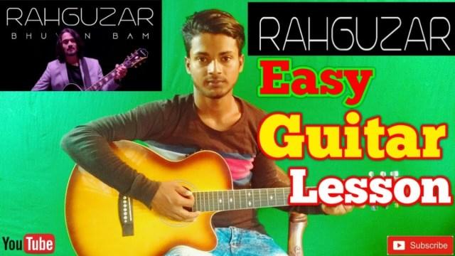 Rahguzar |Bhuvan Bam|-Easy Guitar Chords/Lessons/Tutorial/Guitar ...