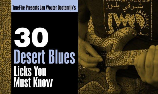 30 Desert Blues Guitar Licks You MUST Know – Intro – Jan Wouter Oostenrijk