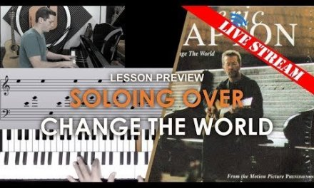 Soloing over Change the World – Adults' lesson preview