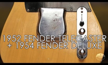 """""""Pick of the Day"""" – 1952 Fender Telecaster and 1954 Fender Deluxe"""