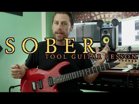 Sober Tool Guitar Lesson