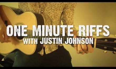 """ONE MINUTE RIFFS"" GUITAR LESSON #1 – Hill Country Blues Rhythm/Lead Riff – Key of E"