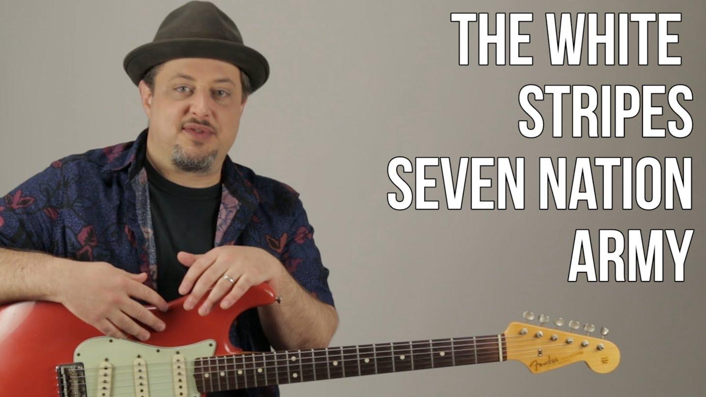 Seven Nation Army Guitar Lesson White Stripes Jack White How