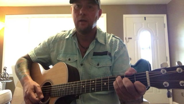 Here Tonight-Brett Young (guitar lesson) (guitar cover) | The Glog