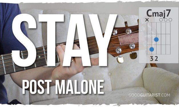 """""""Stay"""" Acoustic Guitar Tutorial 